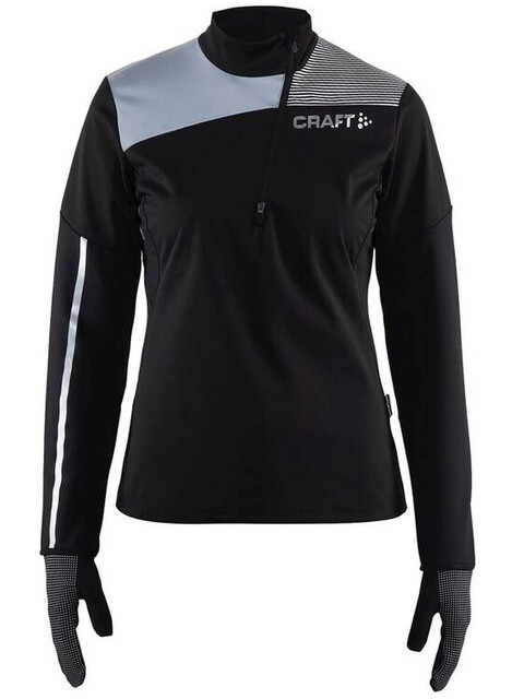 Craft W's Repel Wind Jersey Black/Silver Reflective